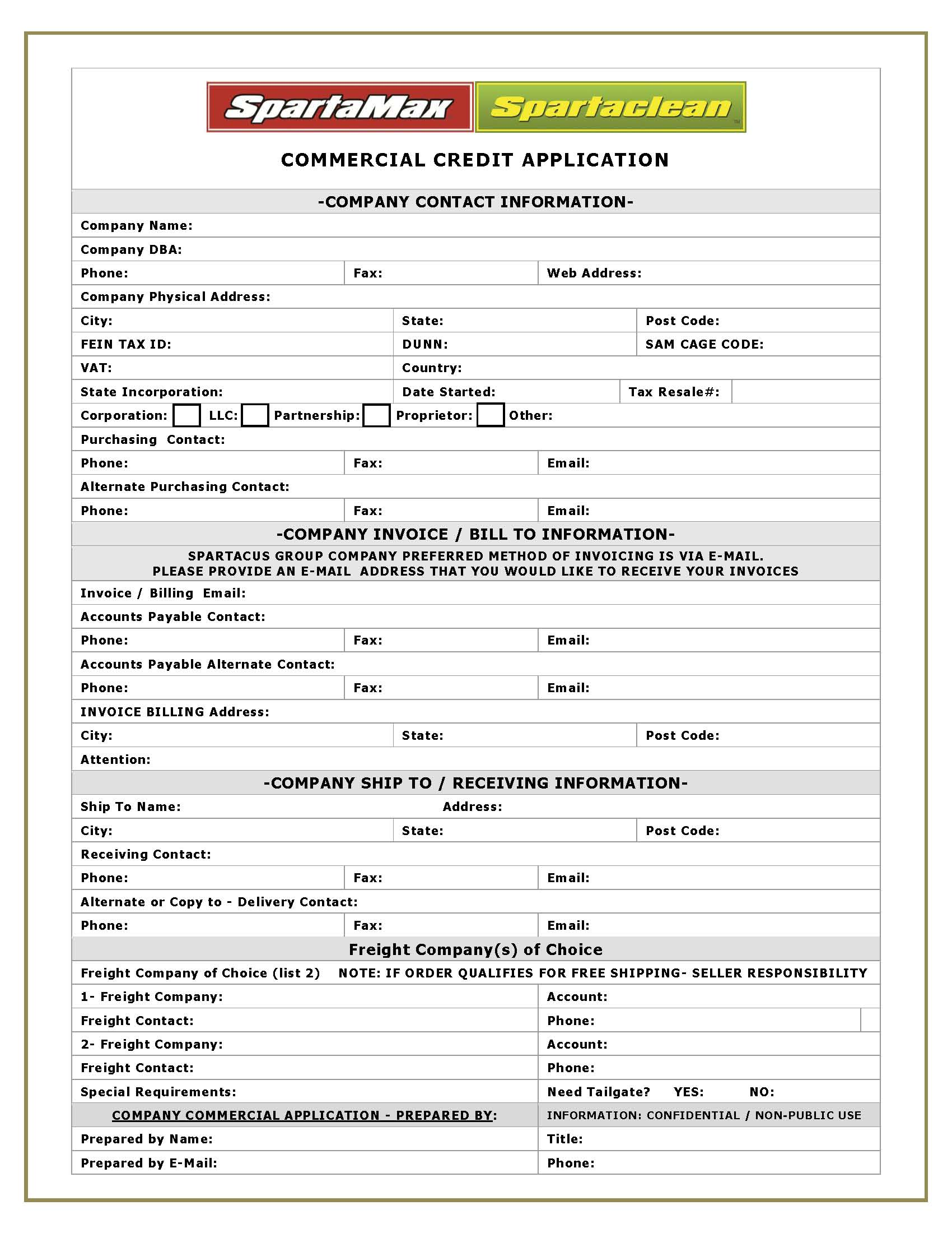 Doc12811656 New Customer Information Form Template new – New Customer Account Form Template
